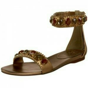 NEW VINCE CAMUTO Karmo Bronze Sandals 8